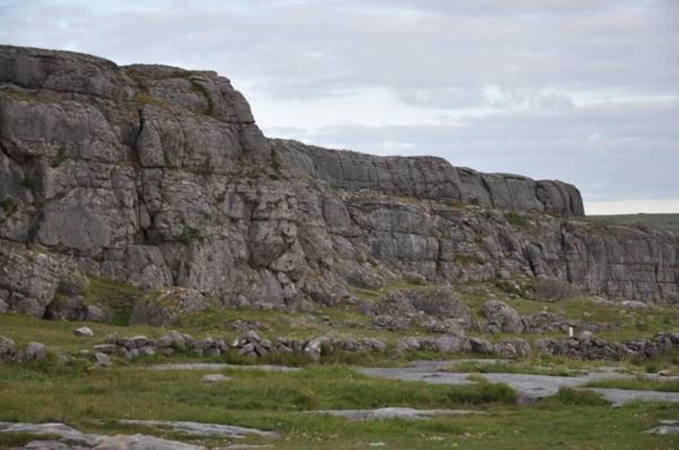 Burren Rock Formation in the Burren