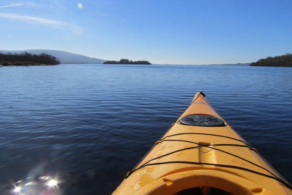 Kayaking on Lough Allen, Ireland