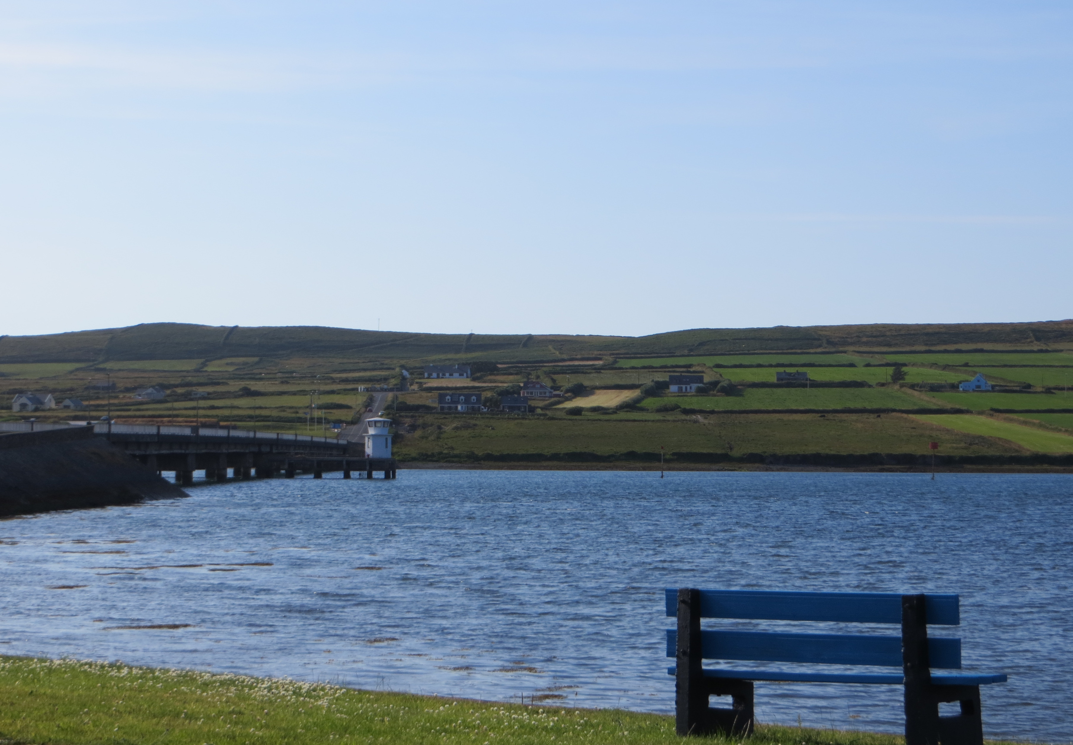 Image of Valentia Island from the Bridge near Port Magee