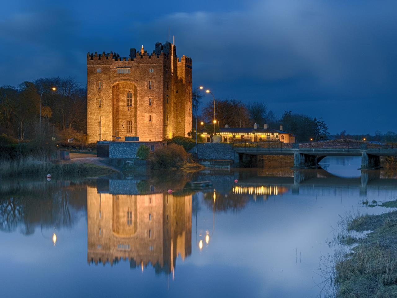 Bunratty Castle Irish cottages
