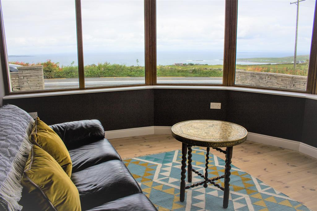 Storytellers Cottage with outside Hot Tub and sea views Cottages in Clare Doolin Cottages in Ireland