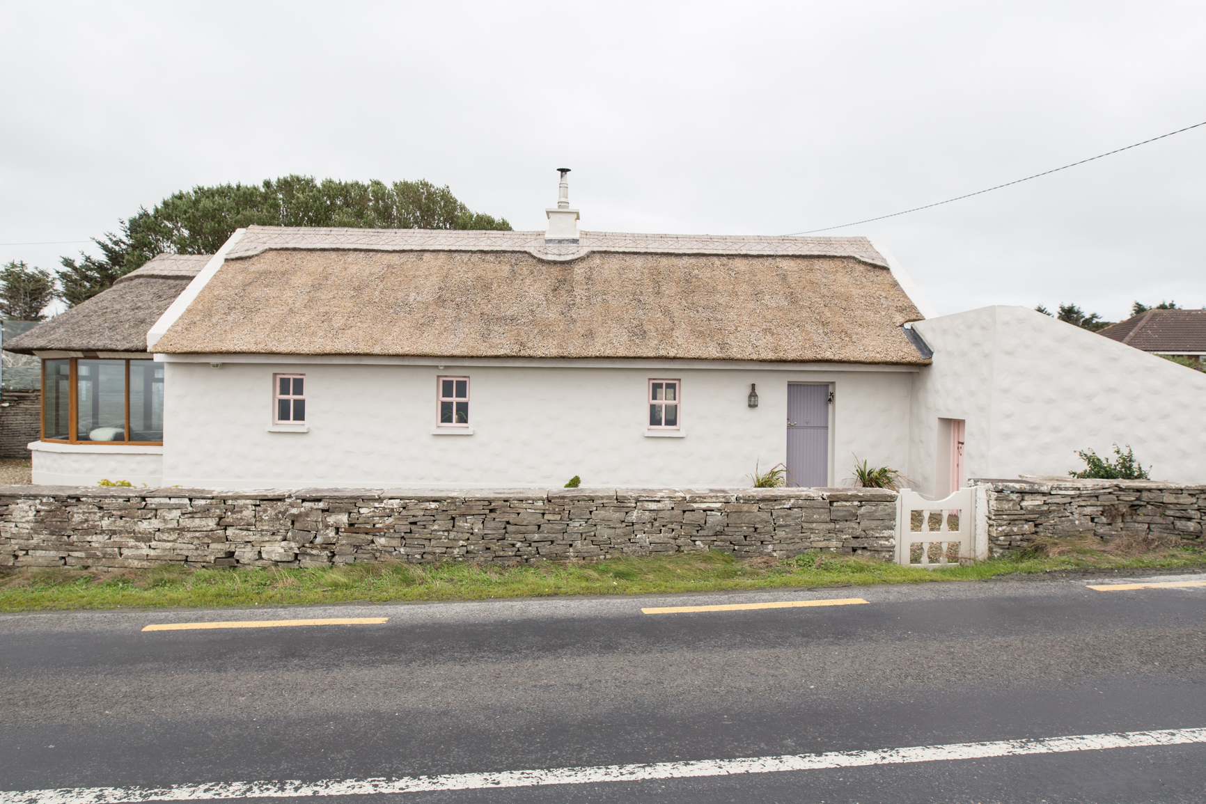 Thatched Cottages Storytellers Cottage with outside Hot Tub and sea views Cottages in Clare Doolin Cottages in Ireland