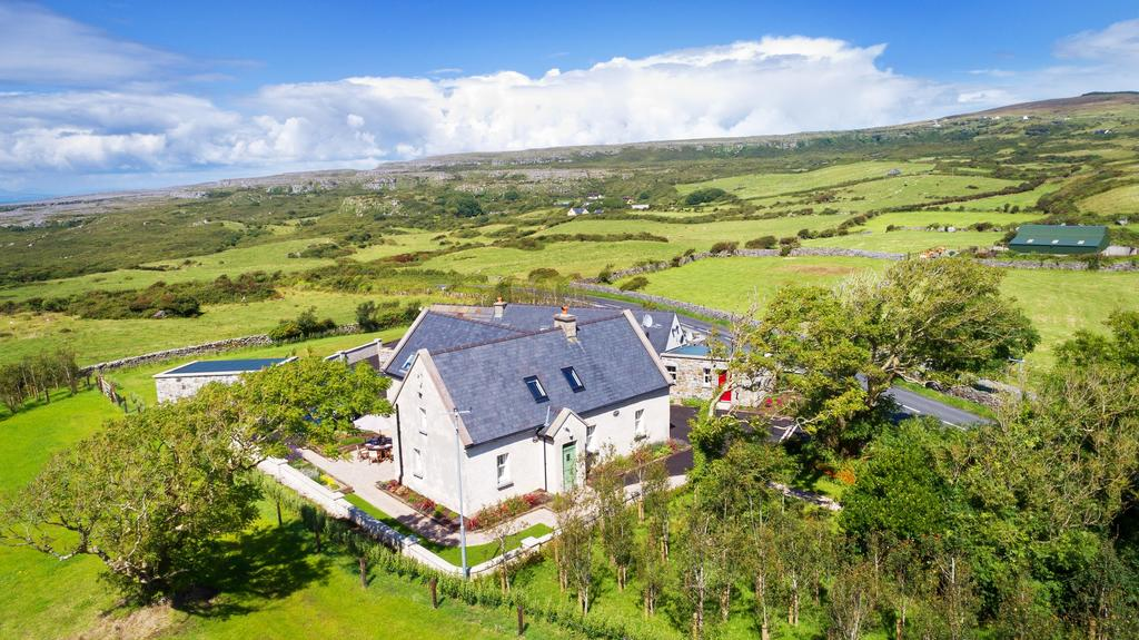 The Hawthorn near the Burren with great views Cottages in Ireland Cottages in Clare