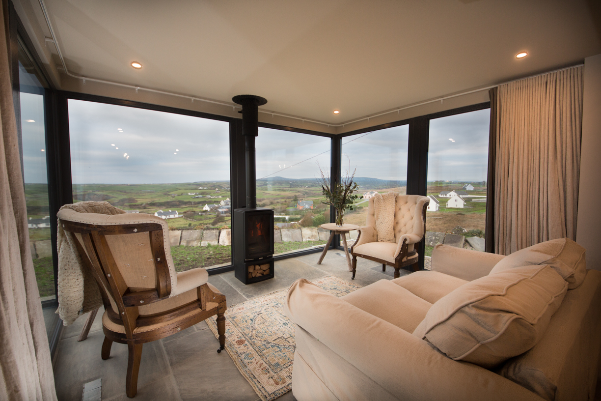 Elfin cottage with great views over Doolin and just a short drive to Cliffs of Moher