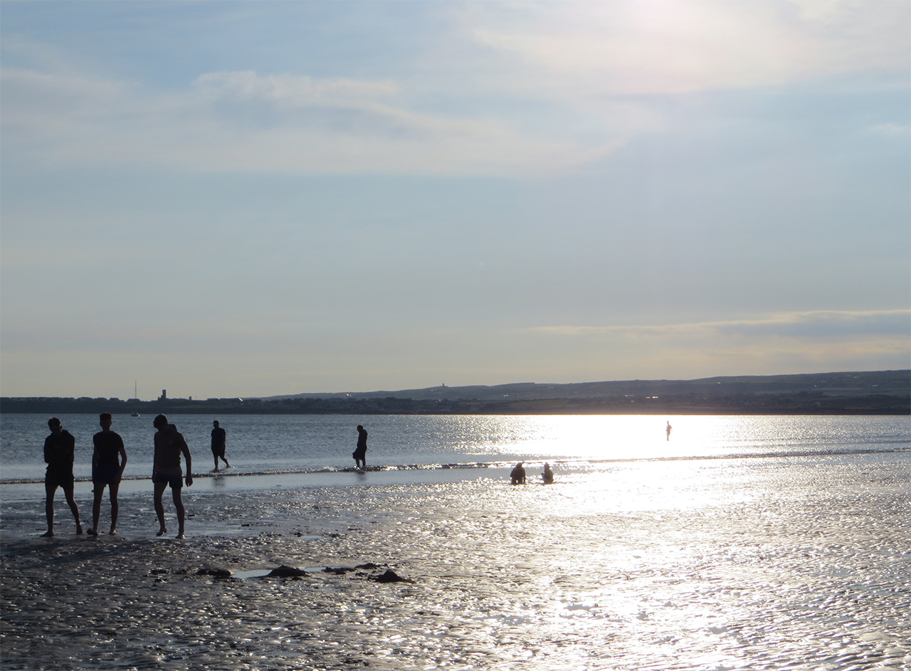 Lahinch Beach in the evening County Clare