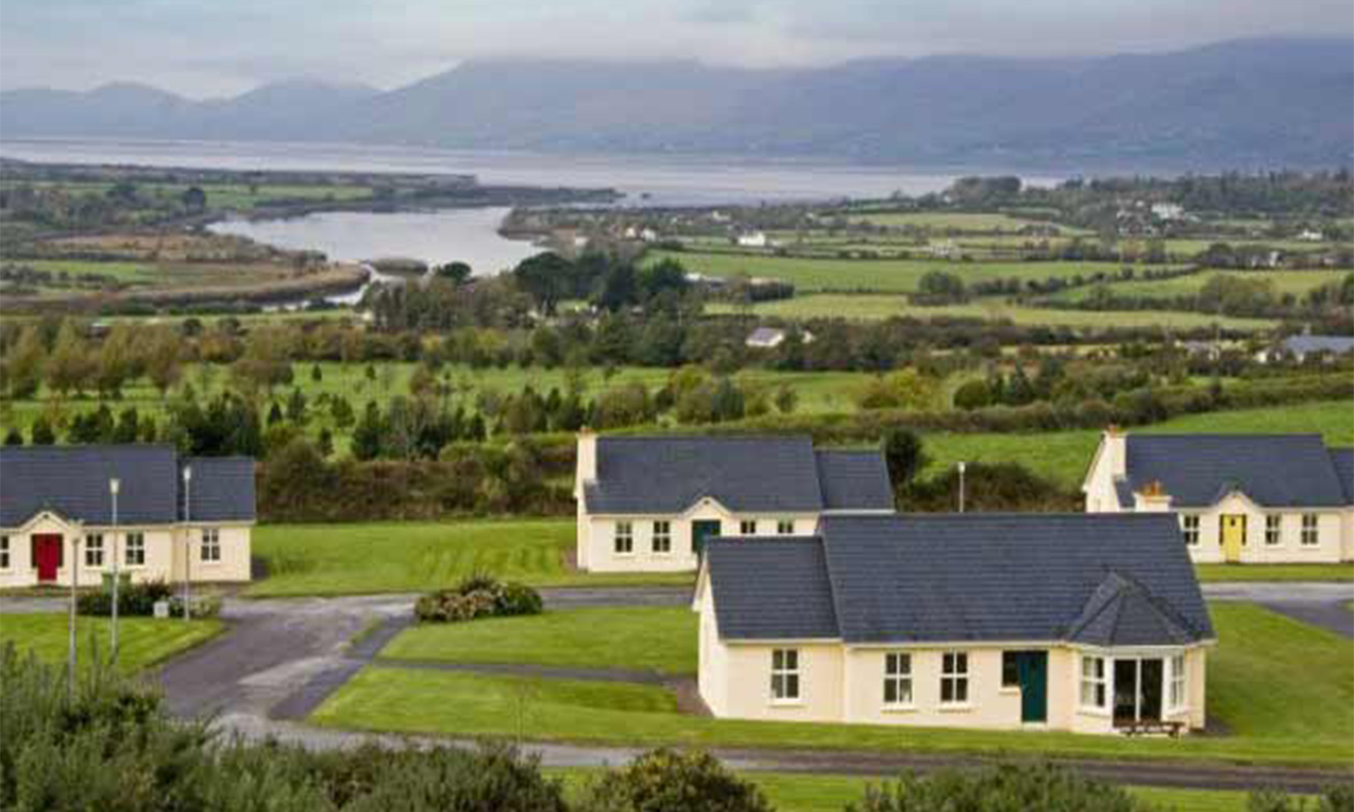 Ring of Kerry Holiday Village with view of hill